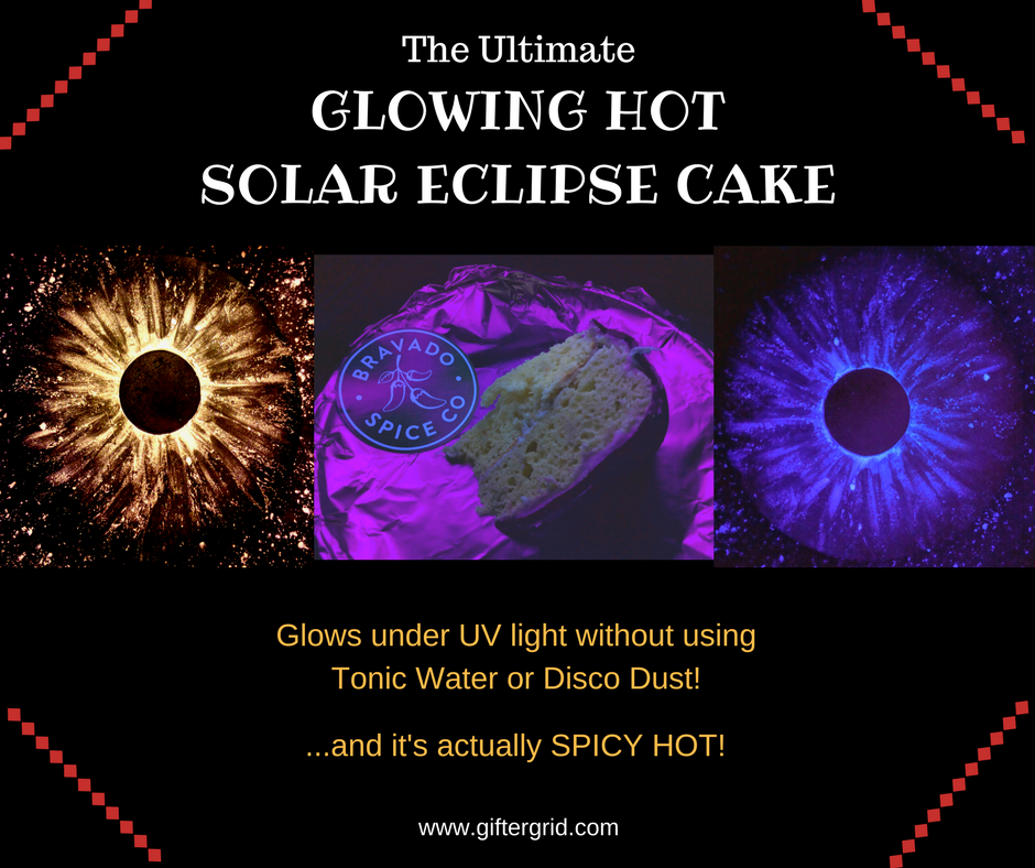 Ultimate Glowing Hot Solar Eclipse Cake Recipe Gifter Grid