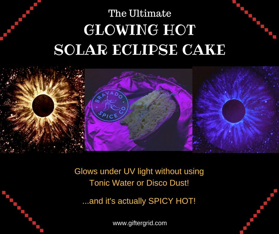 Solar Eclipse Cake Recipe