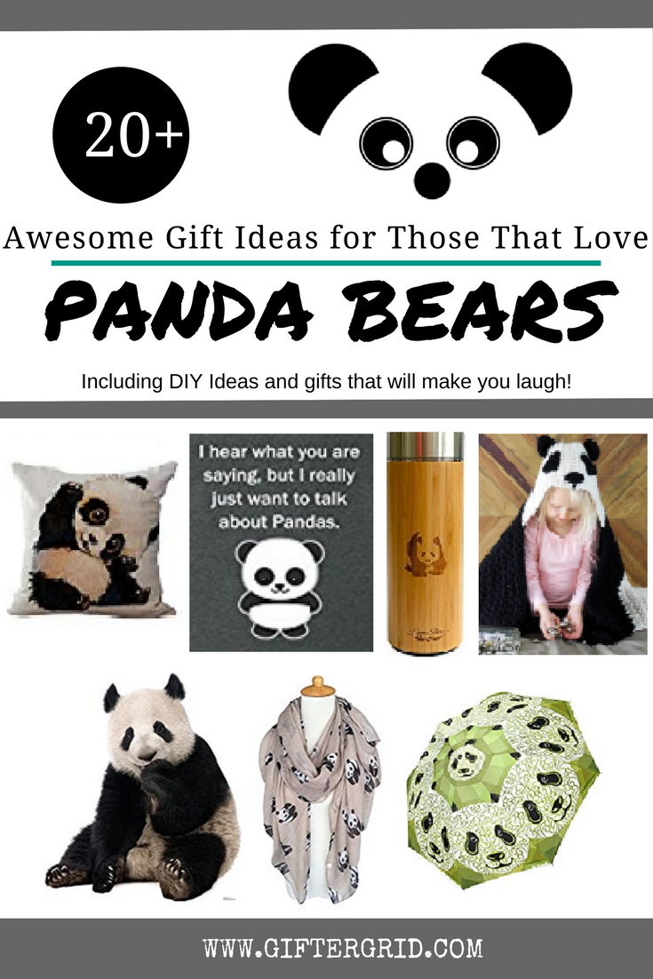 Awesome Gift Ideas For Those Who Love Panda Bears Gifter Grid